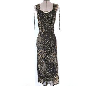 Lapis Vintage Slip Dress Size M